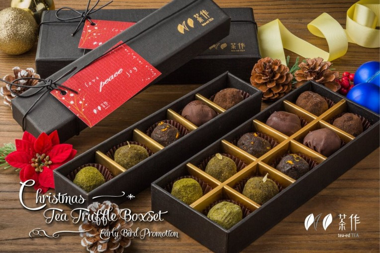 Tea Chocolate Truffle Gift Box